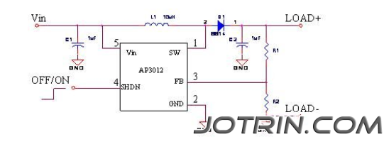 Figure 1 Basic application circuit of AP3012.png