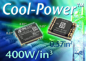 DC-DC Converter delivers 60 W of output power.