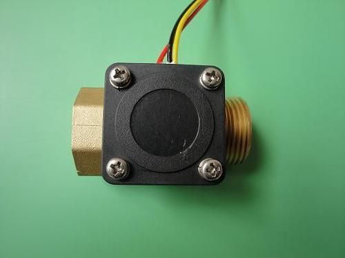 How does the water sensor work?